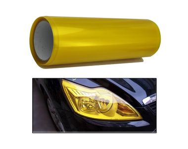 Speedwav Car Headlight Film 1.5m Roll Set of 2-Yellow