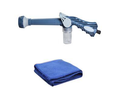 Speedwav EZ 8in1 Car Pressure Washing Cannon & Shampoo Mixer+Microfiber Cloth