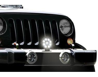 Speedwav 9 LED Car Aux Fog Light Assembly Round