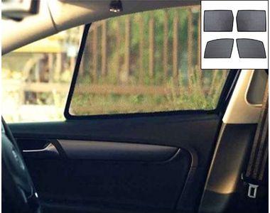 Accedre Car Never Fall Sunshade Set of 4-Maruti Baleno New