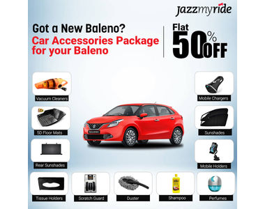 Accedre 11 in 1 Baleno Car Accessories Package