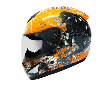 THH Helmet Full Face TS-41 Bull Orange