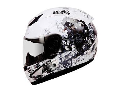 THH Helmet Full Face TS-41 Bull White