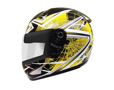 THH Helmet Full Face TS-41-10 Black Yellow