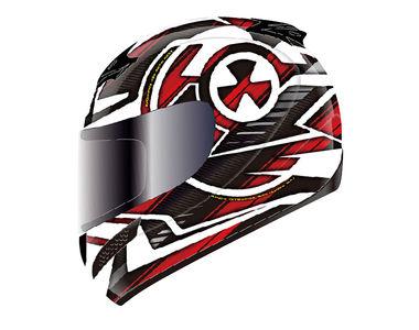 THH Helmet Full Face T-76AP-2 Nuclear White Red