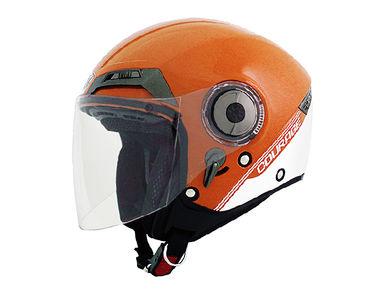 THH Helmet Open Face T-314-1 Courage Orange