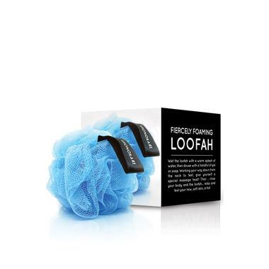 FIERCELY FOAMING LOOFAH - BLUE