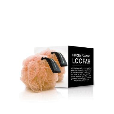 FIERCELY FOAMING LOOFAH - ORANGE