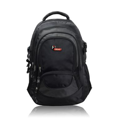 Storm Black Laptop Backpack
