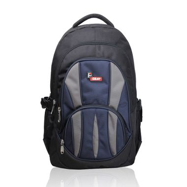 Adios Black Blue Standard Backpack