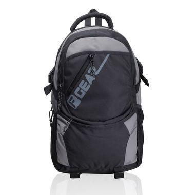 Rooth Black Grey Backpack