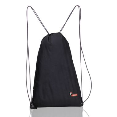 String Gym Black11.5 L Gym Bag
