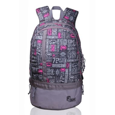 Burner P6 strawberry pink Small casual backpack