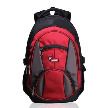 Midus Black Red Backpack