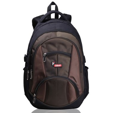 Midus Black Army Green Backpack