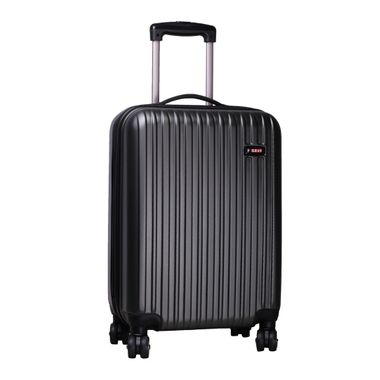 Jive  Grey Check-in Luggage - 24 inch