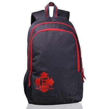 Castle  - Rugged Base Grey Red Backpack