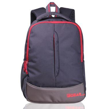 Ferrari Grey Red casual backpack