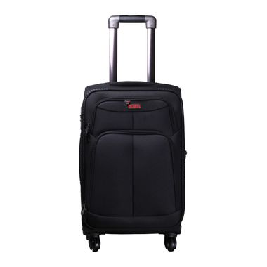 Crystal  Black  Cabin Luggage - 20 inch