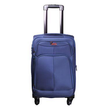 Crystal  Blue  Cabin Luggage - 20 inch
