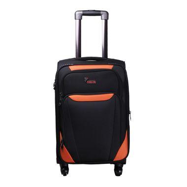 Bavaria Black Orange  Check-in Luggage - 24 inch