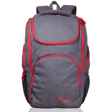 X Lander Grey Red  Backpack
