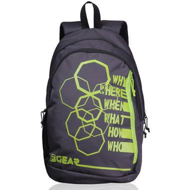 F Gear Diamond Octa 25 Liter Backpack (Grey Green)