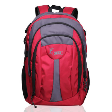 F Gear Areena V2 28 Liter Backpack (Red)