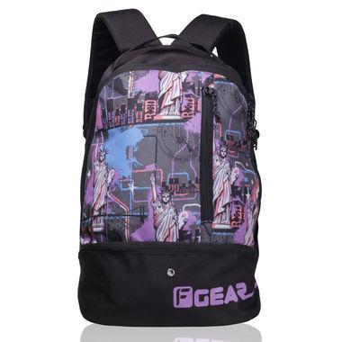 Shock 21.6 L Gym Backpack (Printed violet Pink )