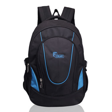 F Gear Brainwave 30 Liters Backpack(Black Blue)