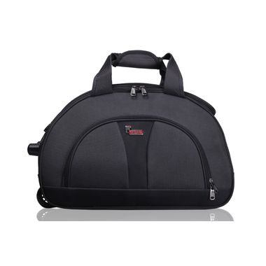 Cooter Grey Black Large size Travel Duffle Bag-24 inch