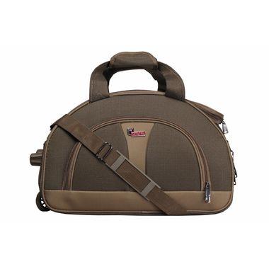 Cooter Khaki  Medium size Travel Duffle Bag-22 inch