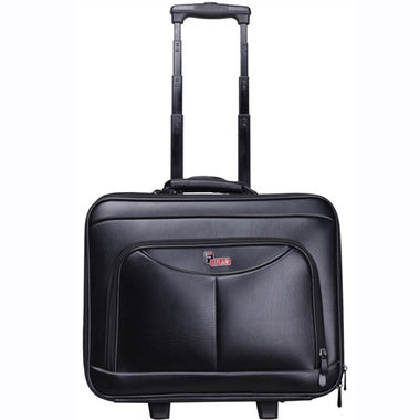 F Gear Ambition 17 inches Small Rolling Laptop Case (Black)