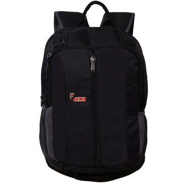 F Gear Pentagon 25 Liter Black Laptop Backpack