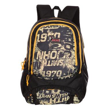 F Gear Success 30 Liters (Lemon Yellow, Black) Casual Backpack