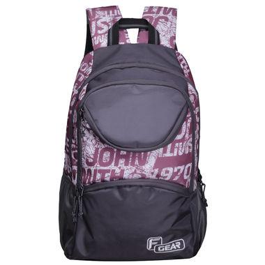 F Gear Helix 30 Liters (Violet, Grey) Laptop Backpack