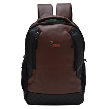 F Gear Samurai Brown 30 liter Laptop Backpack