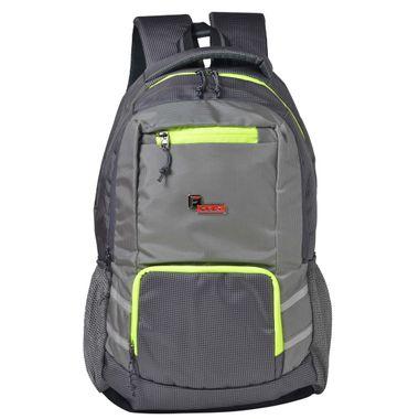 F Gear Intellect 30 Liters Laptop Backpack (Grey)