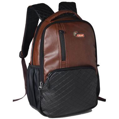 F Gear CEO Brown 25 liter Laptop Backpack