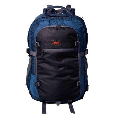 F Gear Olympus 46 Liters Laptop Trekking Sch Bag(Navy Blue, Black)