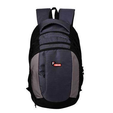 F Gear Partner 34 Liters Laptop Backpack Sch Bag(Grey,Black)
