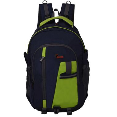 F Gear Reactor 46 Liters Trekking Sch Bag(Navy blue, Green)