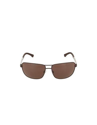Armani EA2033 Sunglasses 313273-64 - Brown Rubber Frame, Brown