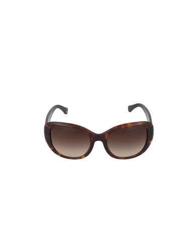 Armani EA4052 Sunglasses 539513-54 - Red Havana Frame, Brown Gradient