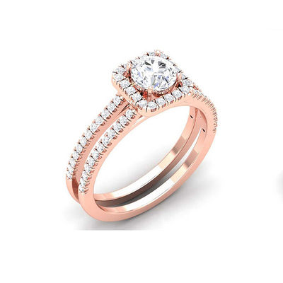 Buy Diamond Engagement Ring line in India Gehnay