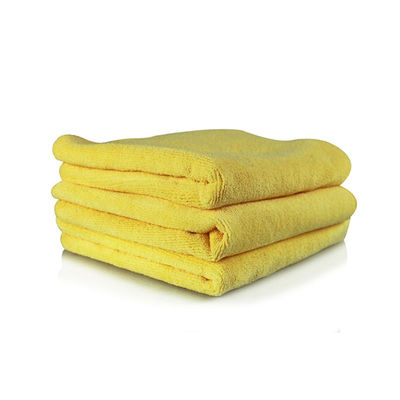 "Chemical Guys Ultra Fine Microfiber Towel Yellow ( Pack Of 3,15""x15"" )"