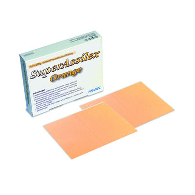 Kovax - Super Assilex Sanding Sheet with Slit - Orange (1500 Grit), 10pcs