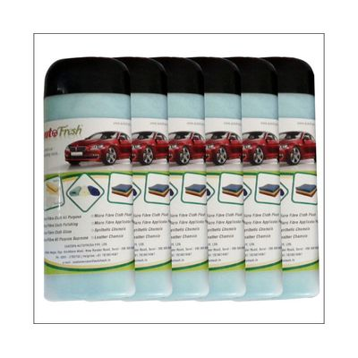 Autofresh Buffing Plush Microfiber Pack Of 6