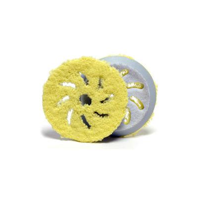 "Rupes Yellow Microfiber Finishing Pad 4"" 80mm"
