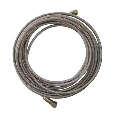 Steam Machine PTFE hose pipe Single layer SS Braiding.